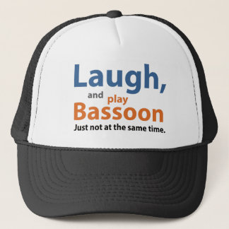 Laugh and Play Bassoon Trucker Hat