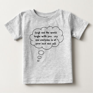 laugh-and-the-world-laughs-with-you-01 tshirt