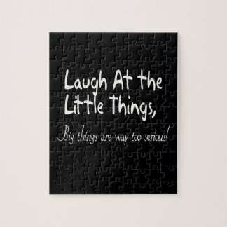 Laugh At The Little Things, Motivational Saying Puzzles