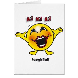 Laugh Ball card