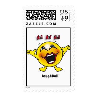 Laugh Ball stamp