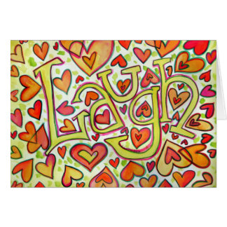 Laugh Card
