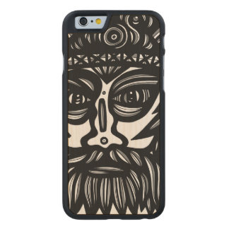 Laugh Cheery Fine Phenomenal Carved Maple iPhone 6 Case