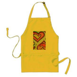 Laugh Hearts Apron apron