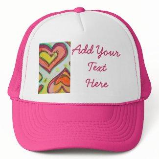 Laugh Hearts Cap hat