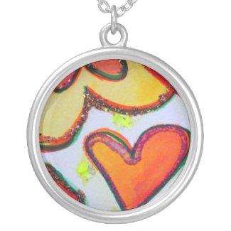 Laugh Hearts Garden Necklace Jewelry Pendant necklace
