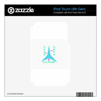 LAUGH iPod TOUCH 4G DECAL