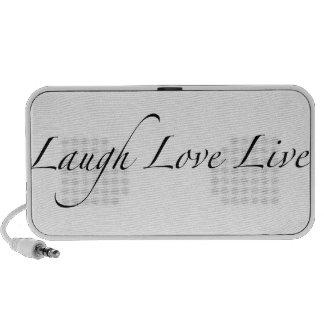 Laugh Love Live Portable Speaker