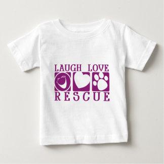 Laugh Love Rescue T Shirt