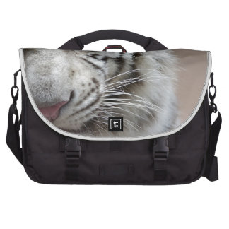 Laugh Of The White Tiger Bags For Laptop