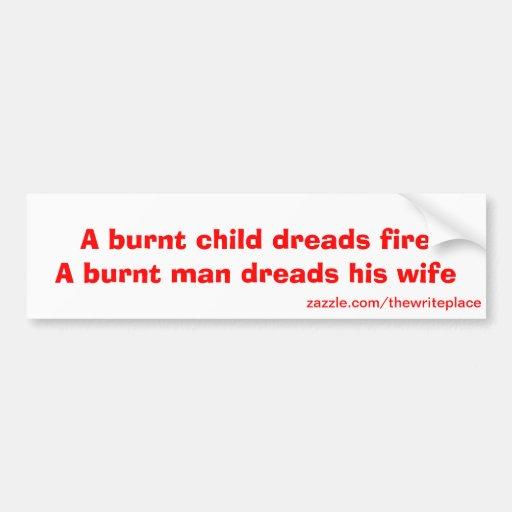 laugh out loud car bumper sticker