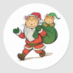 Laugh-Out-Loud Claus Stickers