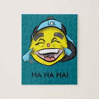 Laugh Out Loud Emoji Jigsaw Puzzle