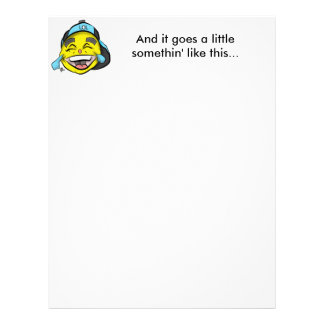 Laugh Out Loud Emoji Letterhead