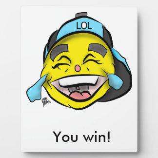 Laugh Out Loud Emoji Plaque