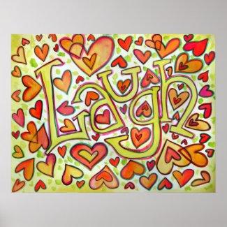 Laugh Print