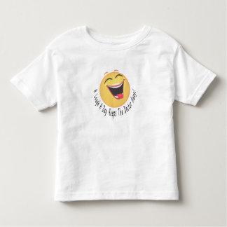 laugh smiley toddler t-shirt