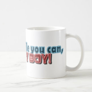 Laugh While You Can Monkey Boy Design Coffee Mug