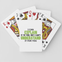 LAUGH WHILE YOU PLAY PLAYING CARDS