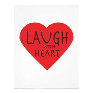 Laugh with Heart Letterhead