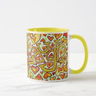 Laugh Word Mug or Cup