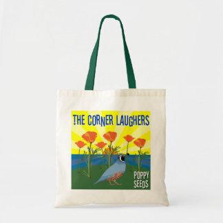 Laughers de la esquina - semillas de amapola bolsa tela barata