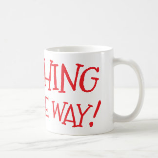 Laughing all the way coffee mug