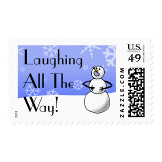 Laughing All The Way Stamp