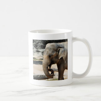 Laughing Asian Elephant Zoo wildlife Coffee Mug