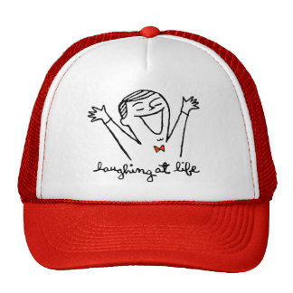 Laughing at Life Mesh Hats