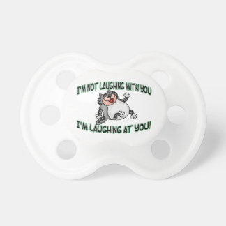 Laughing At You Cat Pacifiers
