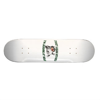 Laughing At You Cat Skateboard Deck