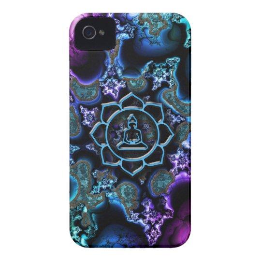 Laughing Baby Buddha Lotus Fractal iPhone Case