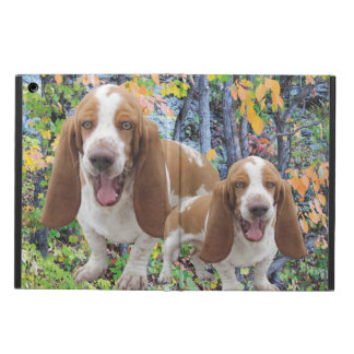 Laughing Basset Hounds Cover For iPad Air