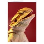 Laughing Bearded Dragon Greeting Card