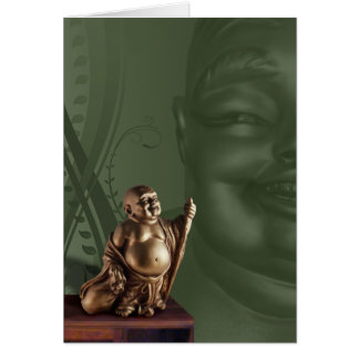 Laughing Buddah card