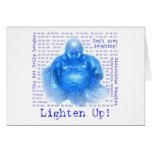Laughing Buddha (1) Greeting Card