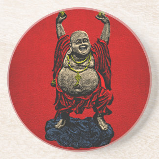 Laughing Buddha (4 color) Coaster