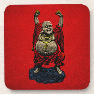 Laughing Buddha (4 color) Drink Coaster