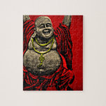 Laughing Buddha (4 color) Jigsaw Puzzle