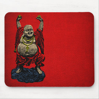 Laughing Buddha (4 color) Mouse Pad