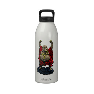 Laughing Buddha (4 color) Reusable Water Bottles