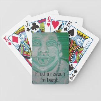 Laughing Buddha Bicycle Playing Cards