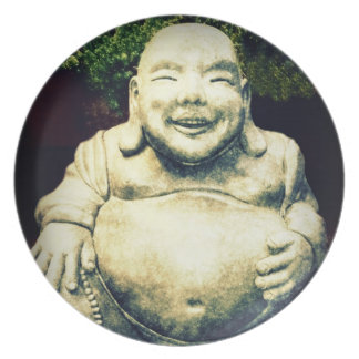Laughing Buddha Dinner Plate