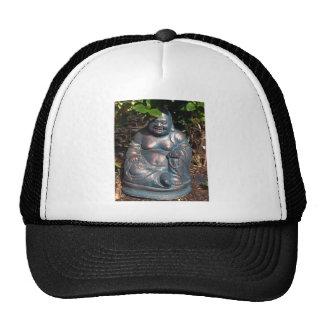 Laughing Buddha enjoying Spring sun Trucker Hat