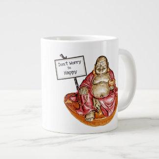 Laughing Buddha Giant Coffee Mug