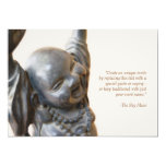 "Laughing Buddha Invitation 5"" X 7"" Invitation Card"