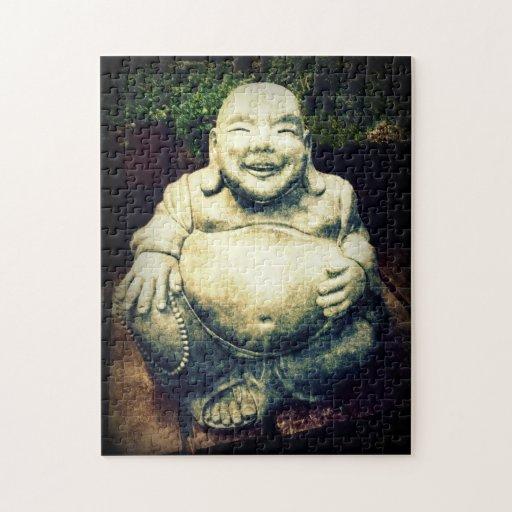 Laughing Buddha Jigsaw Puzzle