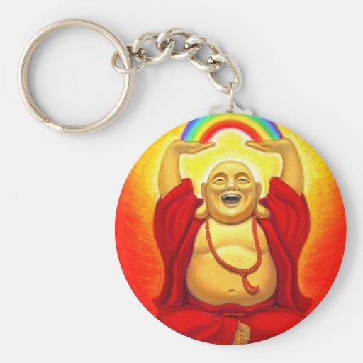 Laughing Buddha Keychain