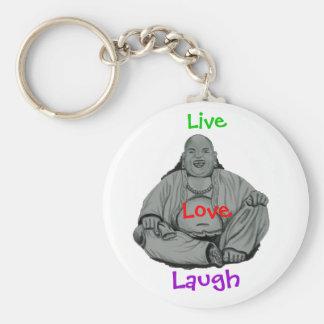Laughing Buddha Keychains